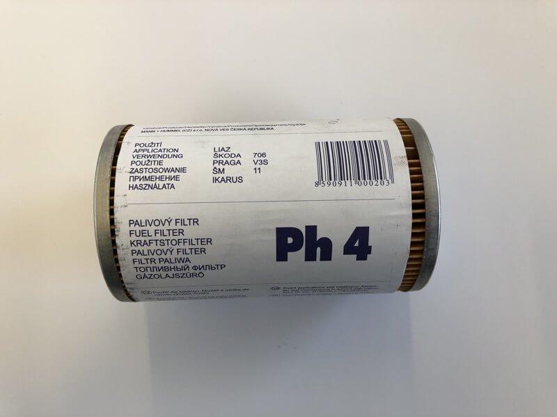 Palivový filtr hrubý PH 4