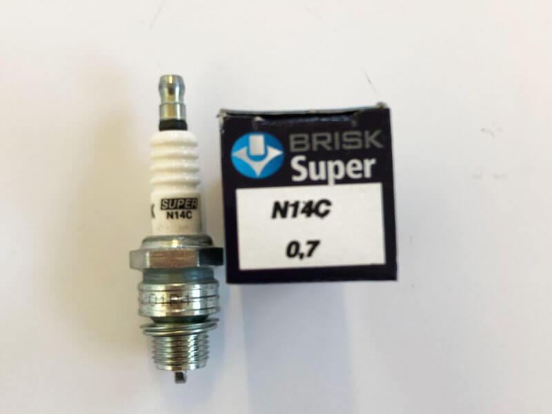 Zapalovací svíčky N14C BRISK – Super